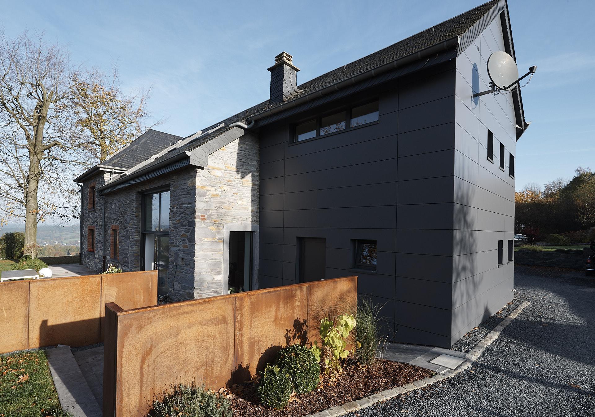Fabulous Entkernung und Neugestaltung einer Fassade - Outdoor - Bauen nach Maß NC76